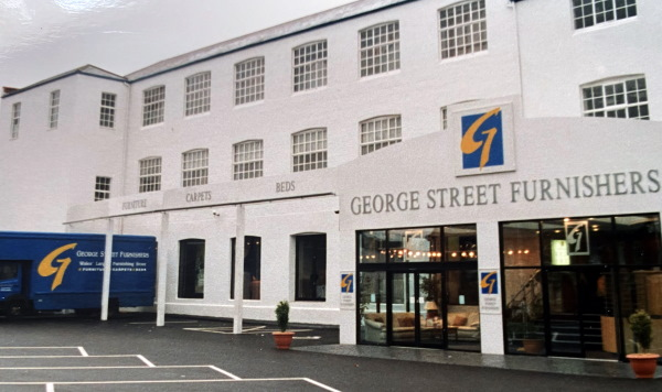 George Street Furnishers Store Front Newport Wales
