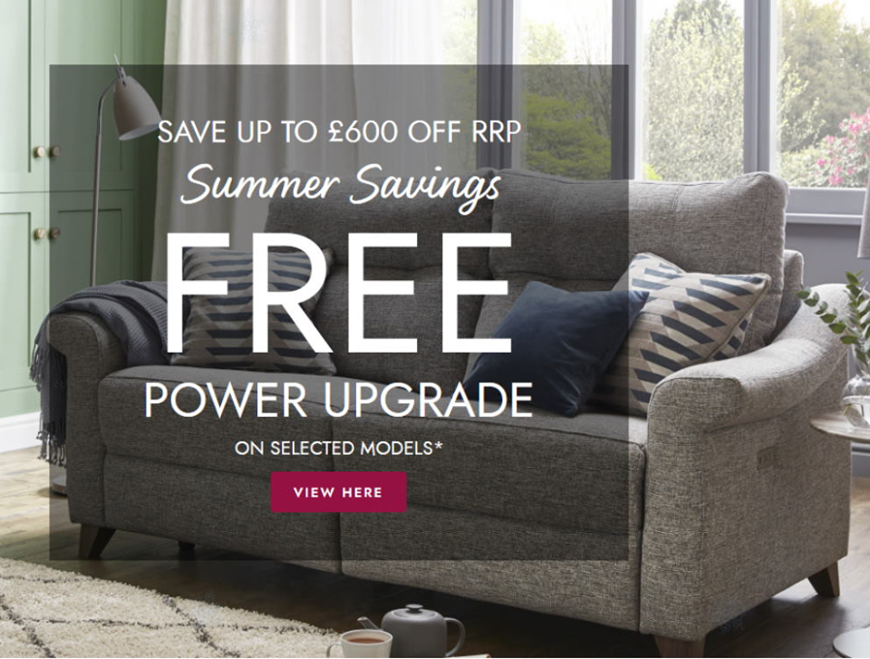 G Plan Free Power Upgrade Offer
