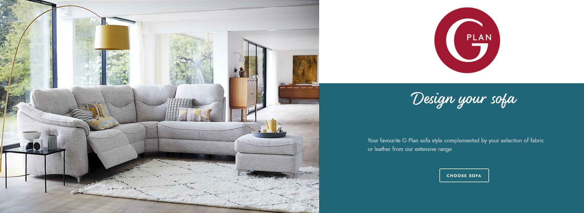 G Plan Upholstery Sofas