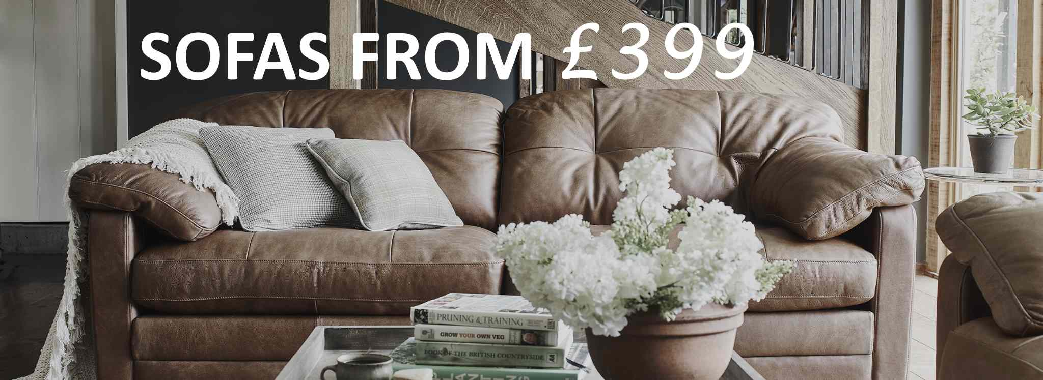Sofas From £399 Newport Wales