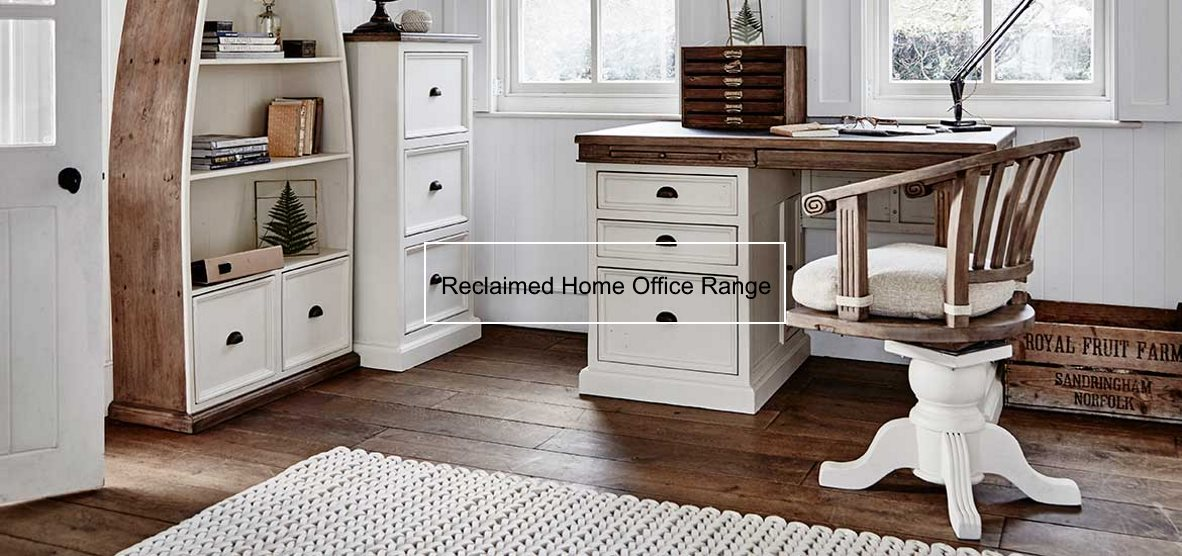 Reclaimed Painted Home Office