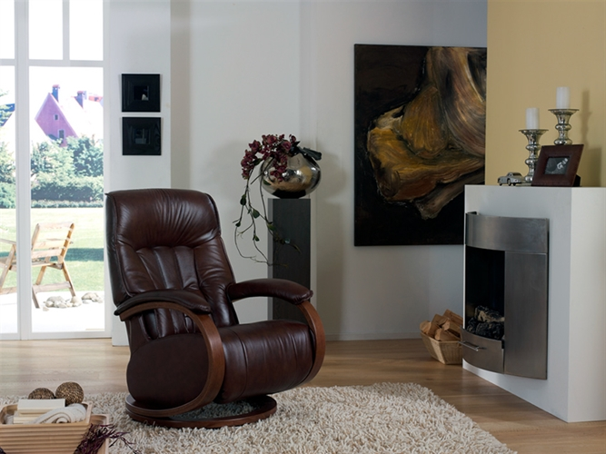 Himolla Mosel Maxi Recliner Chair Leather 24