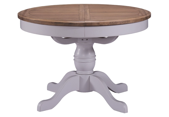 Painted Grey Oak Dining Table