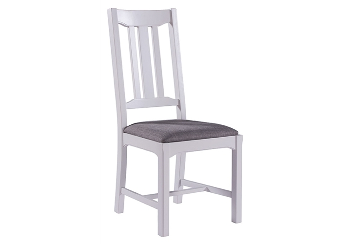 Painted Grey Oak Dining Chair