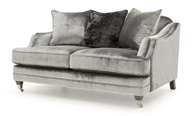 Belvedere Velvet 2 Seater Sofa Detail
