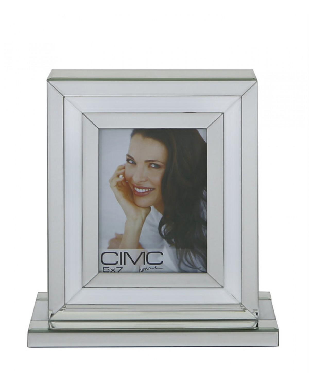 Brooklyn White 5x7 Box Photo Frame