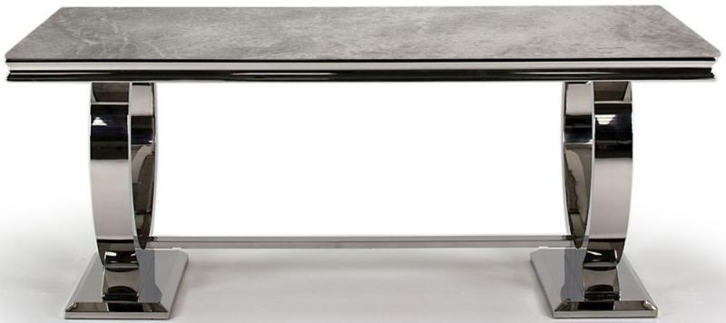 Arianna Grey Marble 180cm Dining Table