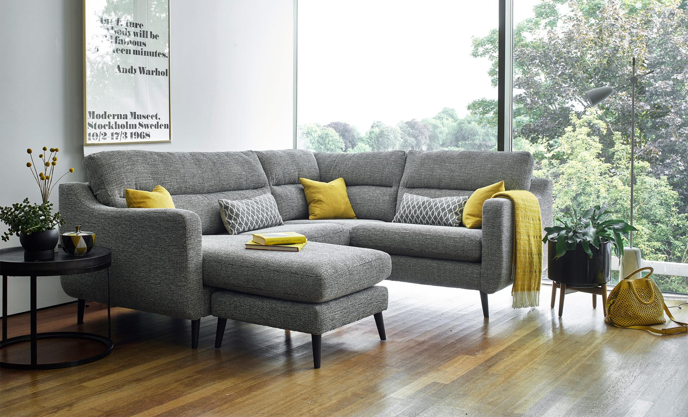 Camden RH Compact Corner Sofa P Grade Fabric