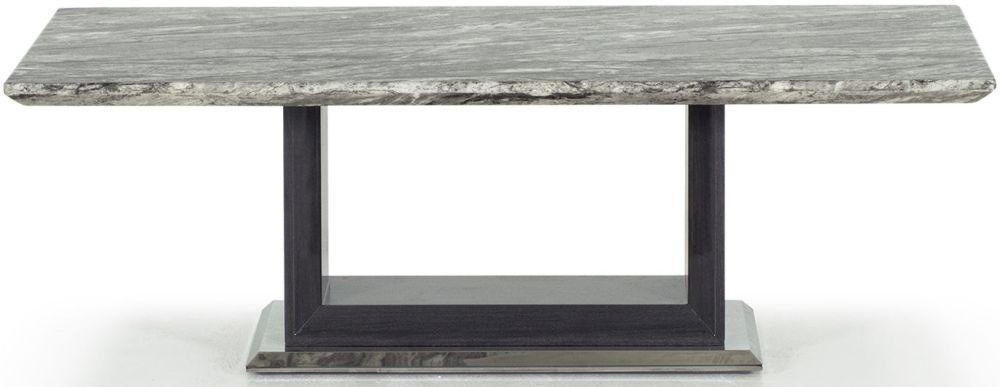 Donatella Grey Marble Coffee Table