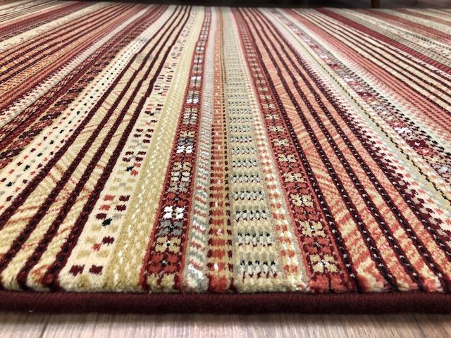 Gobi 135 x 200 cm Morrocan Stripe Style Traditional Rug Detail