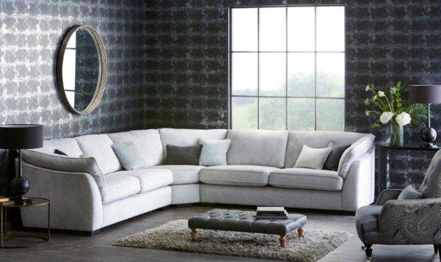 Halley Large Corner Group Sofa Fabric