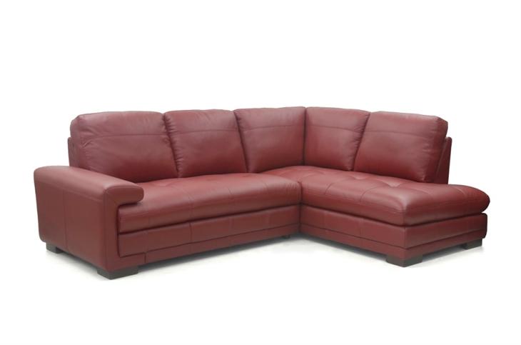 Metro Leather Corner Sofa Group LHF