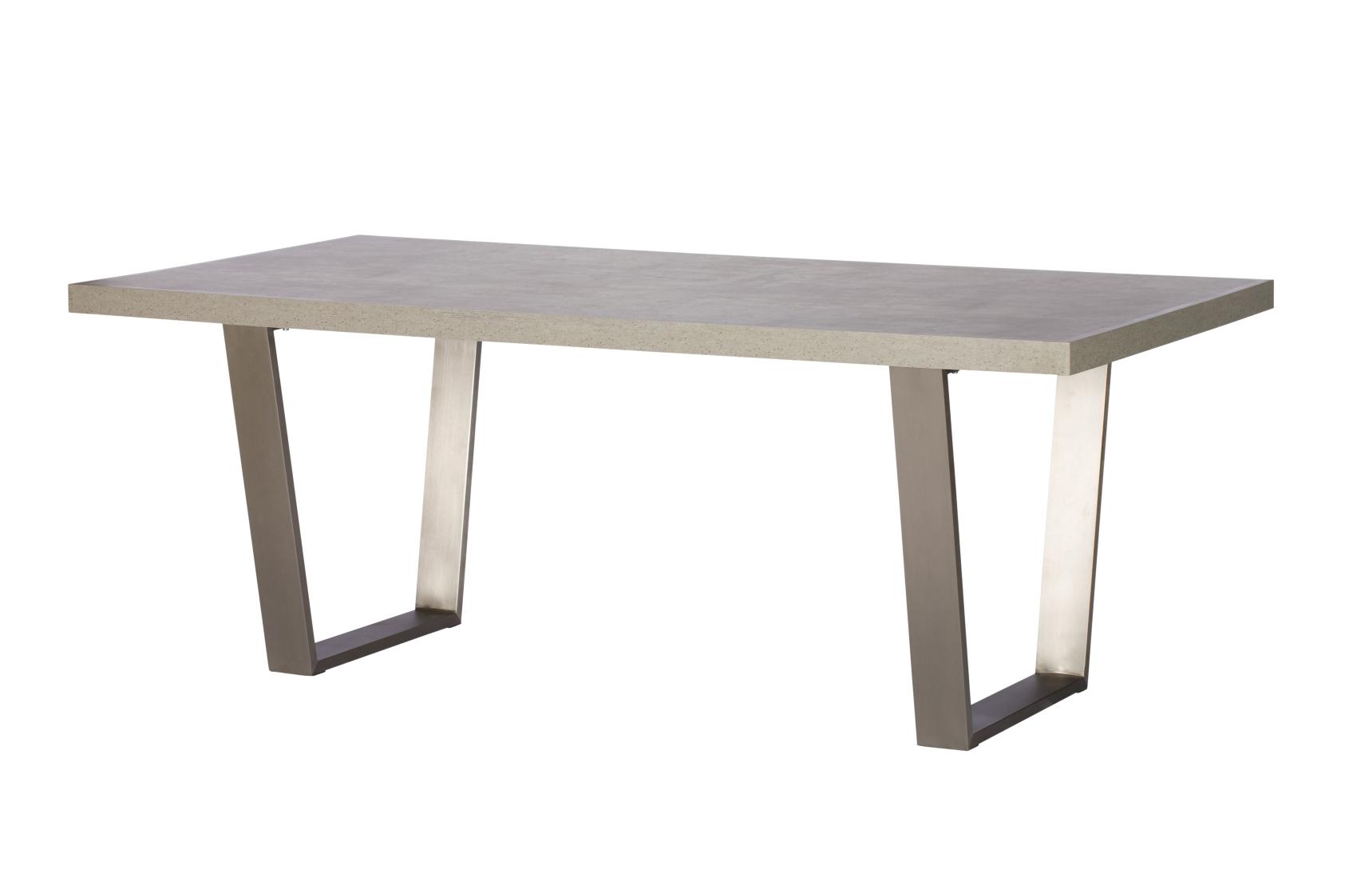 Pella Concrete Effect 160cm Dining Table