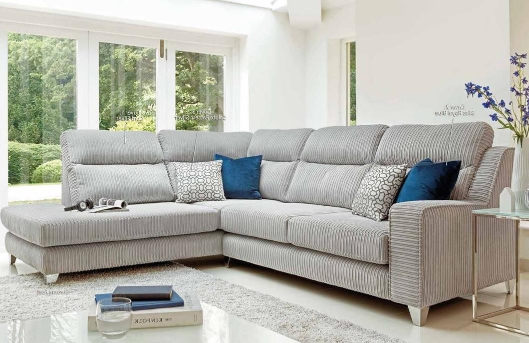 Salute Corner Group Fabric Sofa R2