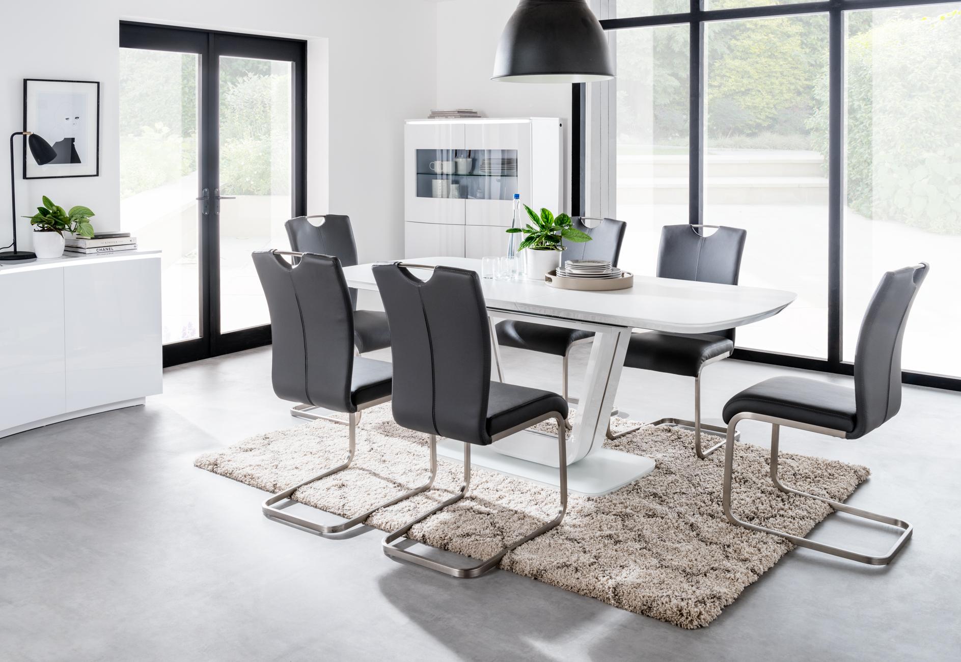 Lazarro Dining Table White