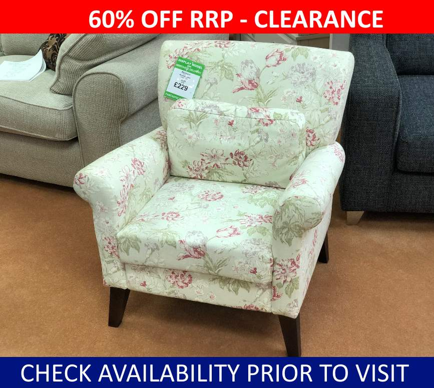 Bloxham Clearance Accent Chair George Street Furnishers