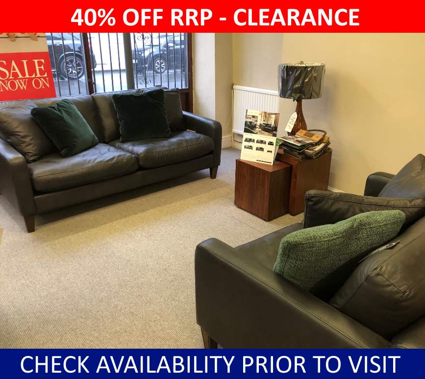 Alexander & James Clearance Hoxton Midi & Small Sofa