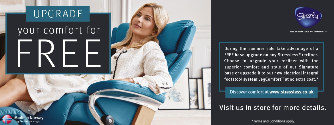 free stressless upgrade