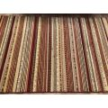 Gobi 135 x 200 cm Morrocan Stripe Style Traditional Rug Close