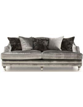 Belvedere Velvet 4 Seater Sofa
