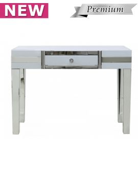 Brooklyn White 1 Drawer Console Table