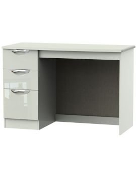 Camden High Gloss Kaschmir 3 Drawer Desk