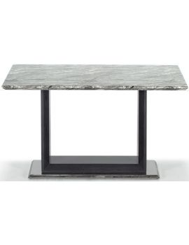 Donatella Grey Marble Dining Table 120cm