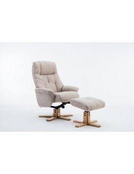 Emirates Swivel Chair & Stool Lisbon Wheat