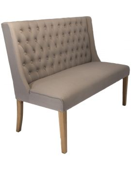 Luxor Dining Bench Almond