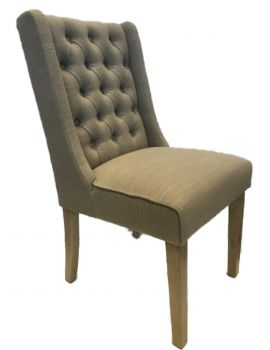 Luxor Dining Chair Almond