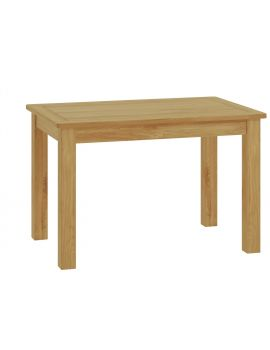 Portland Oak Fixed Dining Table