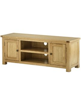 Portland Oak Large Tv Unit