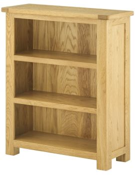Portland Oak Small Bookcase