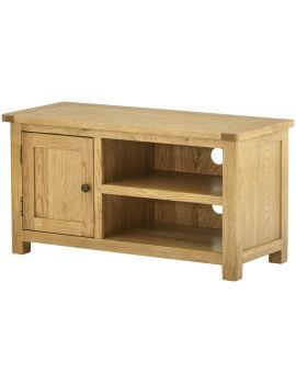 Portland Oak Tv Cabinet