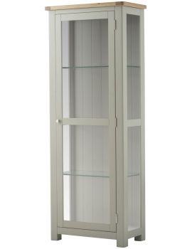 Portland Stone Glazed Display Cabinet