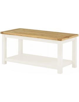 Portland White Coffee Table