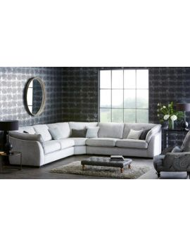 Halley Large Corner Group Sofa Fabric