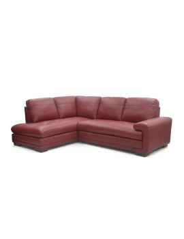 Metro Leather Corner Sofa Group RHF
