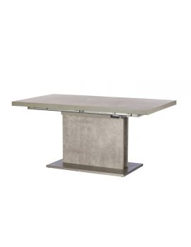Pella Concrete Effect Extending Dining Table