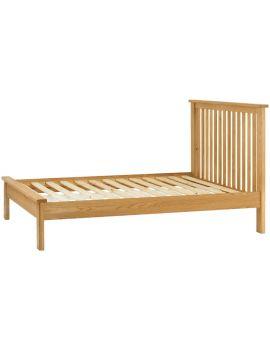Portland Oak Double Bedframe
