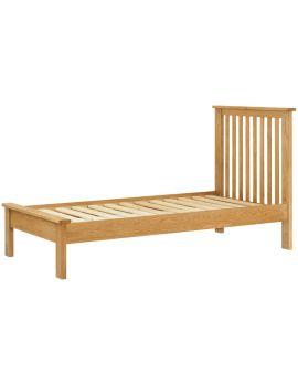 Portland Oak Single Bed