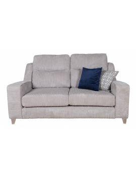 Salute 3 Seater Fabric Sofa