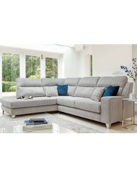 Salute Corner Group Fabric Sofa R2