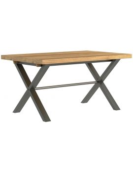 Wentwood Industrial Oak Small Dining Table