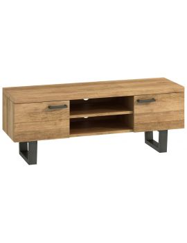 Wentwood Industrial Oak TV Unit
