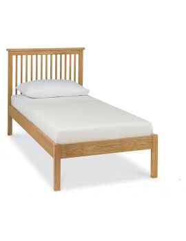 BENTLEY DESIGNS ATLANTA OAK 90CM LOW FOOTEND BEDSTEAD