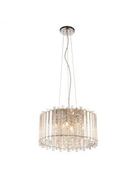 E13 5 Light Crystal Ceiling Pendant