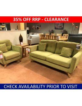 Ercol Cosenza Clearance Medium Sofa & Chair