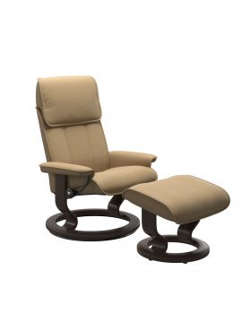 Stressless Admiral Classic Chair & Stool