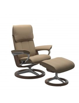 Stressless Admiral Signature Chair & Stool